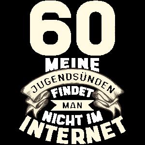 60. Geburtstag - Jahrgang 1960 - Geschenk