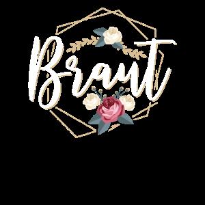 Braut - Junggesellinnenabschied Crew Blumen