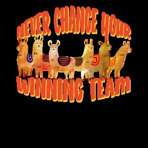 Alpakas sind das beste Team