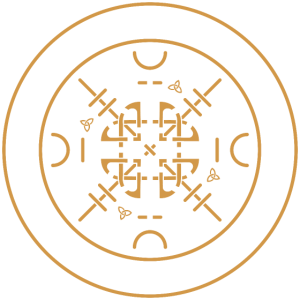 Wikinger keltische Schriftzeichen