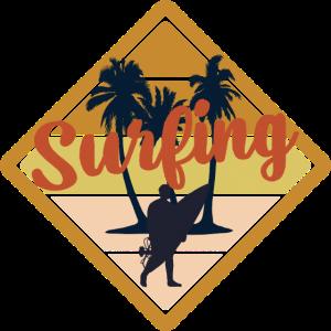 Surfing Surfen Vibes Beach