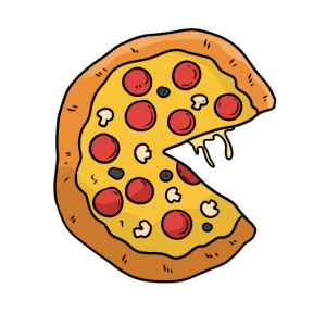 Pizza Valentinstag Paar T-shirt