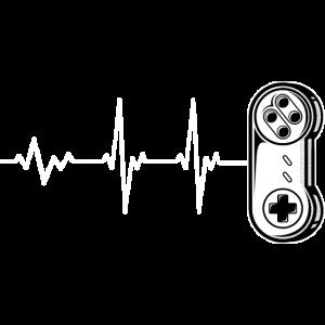 Gaming Herzschlag Gamepad Controller