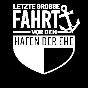 Letzte Große Fahrt Vor Dem Hafen Der Ehe JGA Team