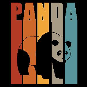 Panda Pandas Pandabären Geschenk