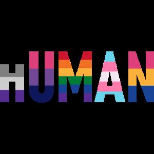 Human Flags