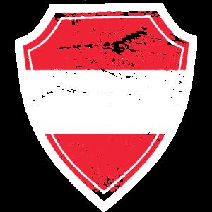 Oesterreich mit Wappen