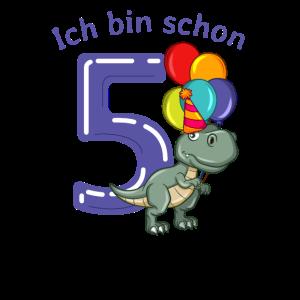 5 Jahre T-Rex Geburtstag