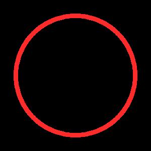 Kreis Ring Form Symbol Rot
