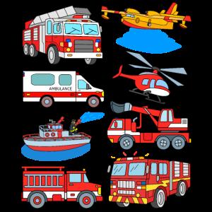 Feuerwehrautos Feuerwehrmann Feuerwehr Fahrzeuge