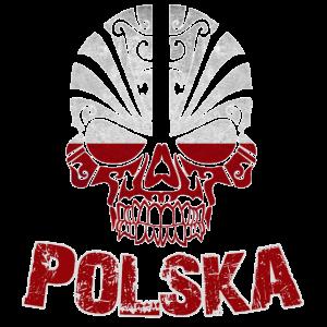 Totenkopf Polska Fussball Fan