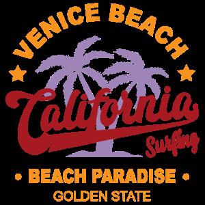 Surfen Kalifornien Venice Beach