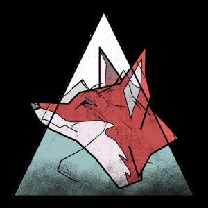 Fuchs und Berge