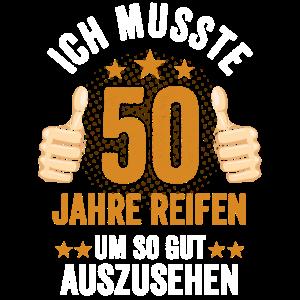 Fünfzig 50 Fünfzigster Geburtstag