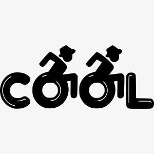 Cool rolstoel gebruiker 001