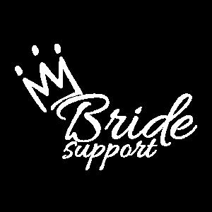 Braut Unterstützung Krone