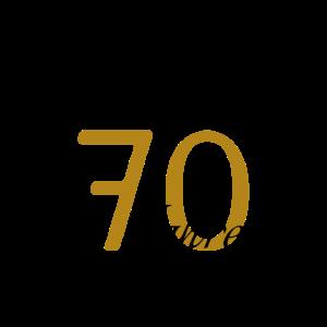 70 Geburtstag