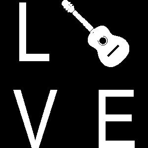 Gitarre für Musiker die dieses Instrument lieben