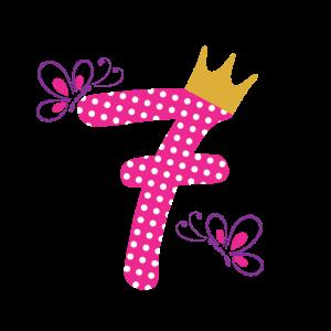 Geburtstag 7 Jahre Alt 7ter Geburtstag Geschenk