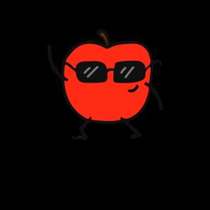 Apfel - Lustig - Süß