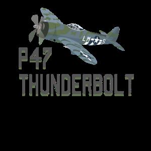 P47 Thunderbolt Aircraft