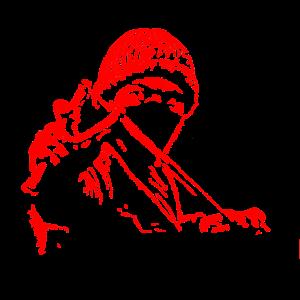 Anti-Fascist slingshot - pixel small