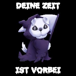 Tod Hund Sensemann Spruch Geschenk
