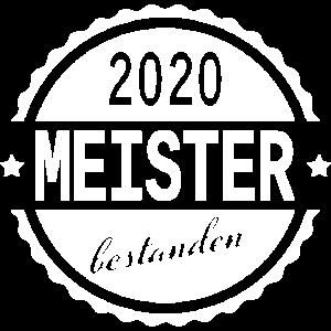 Meister bestanden 2020 Schule Prüfung Meisterbrief