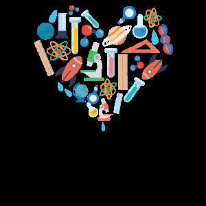 Herz gehört Wissenschafts-Herz-Wissenschafts-Liebhaber