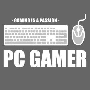 PC Gamer Gaming Typografie