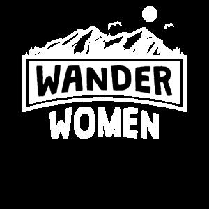 Wandern Frau Bergsteigerin Wander Women Geschenk