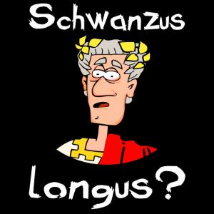 Schwanzus longus Witziges cartoon design