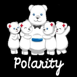 Polarität Eisbären