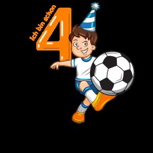 4 Jahre Fußball Geburtstag