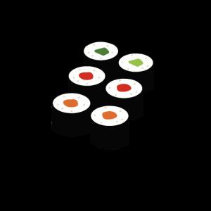 lustiges sushi t-shirt geschenk