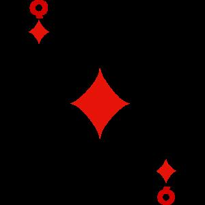 Spielkarte Kartenspiel Karte Dame Karo Skat Poker