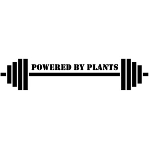 Powered by plants barbell