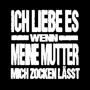 Zocken Zocker Gamine Gamer Sprüche Games