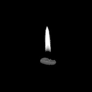 Angezündete Kerze