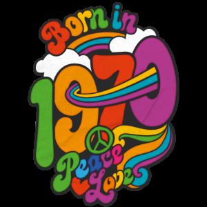 Geboren 1970 Flower Power Hippie 50. Geburtstag