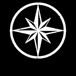 nautischer stern kompass