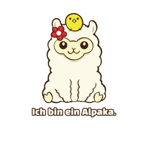 Ich bin ein Alpaka!