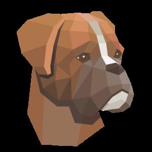 Hund Low Poly