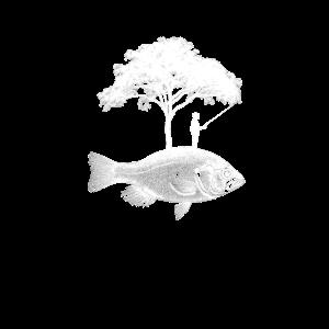 Angler Fisch Baum