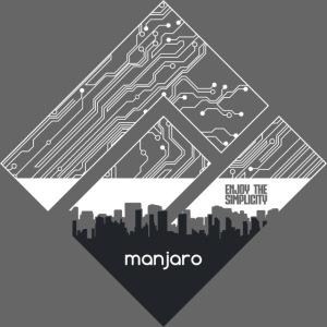 Manjaro Circuit Logo v3 (no color)