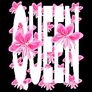 Rosa bunte Blumen der Königin um Hawaii style