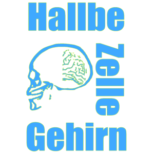 Halbe Gehirn Zelle
