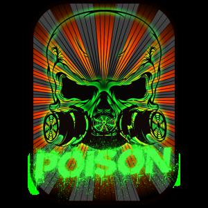 Skull Poison in Frame