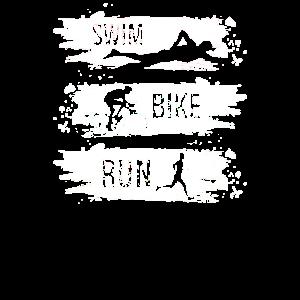 Swim bike run - Triathlon, Schwimmen