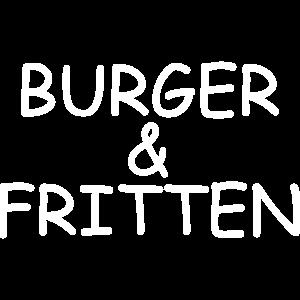 Burger & Fritten
